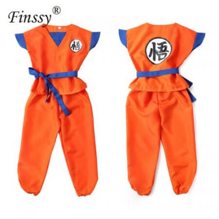 Dragon Ball Z Son Goku Turtle senRu Cosplay Costume for Boys Halloween Carnival Costume for Kids Party Uniform Dress New Year