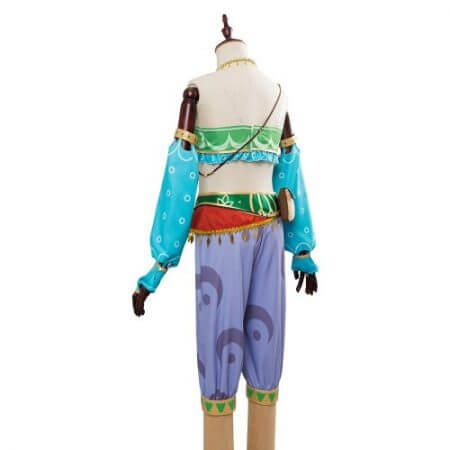The Legend of Zelda Breath of the Wild Cosplay Costume Female Zelda Link Cosplay Costume Gerudo Halloween Carnival Costumes 5