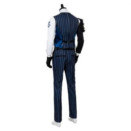 OW Cosplay Costume Shimada Hanzo Cosplay Costume Suit Adult Men Halloween Carnival Costumes 5