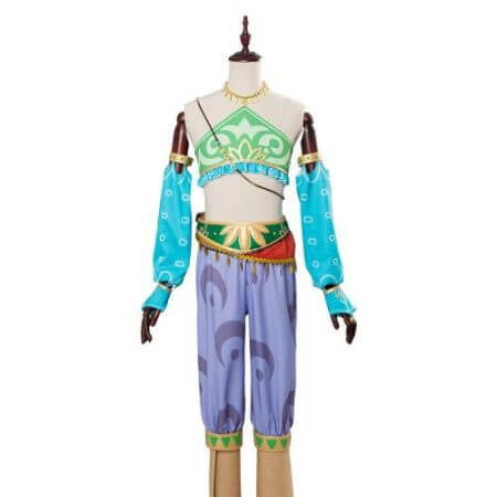 The Legend of Zelda Breath of the Wild Cosplay Costume Female Zelda Link Cosplay Costume Gerudo Halloween Carnival Costumes 1