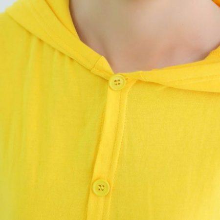 Anime pajamas Pikachu men/women adult kids short sleeve cotton cartoon pajamas summer Unisex Pokemon Cosplay Kigurumi costume 4