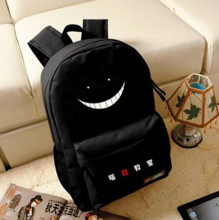 Korosensei Women Cute Backpack Anime Bookbag Assassination Classroom School Bags for Teenagers Girls Anime Travel Bagpack Rugzak 1