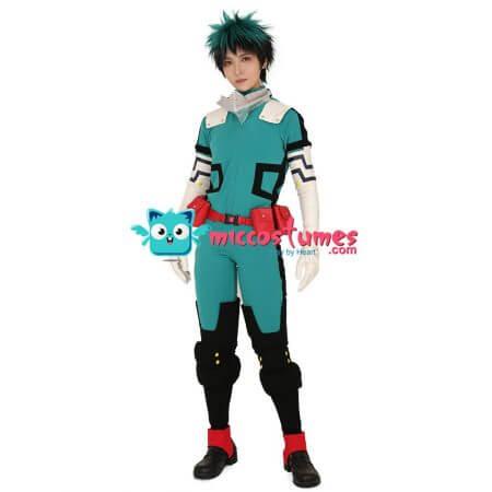 My Hero Academia Midoriya Izuku Deku Cosplay Costume Fighting Suit 1
