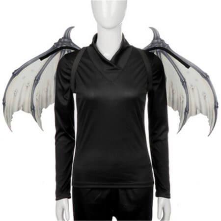 Cosplay adult children halloween carnival purim costume prop demon wings mask dragon bat wings for performance props J6 1