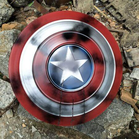 Avengers Endgame Captain America Shield Steve Rogers Cosplay Prop superhero Metal Shield props Halloween Party 3