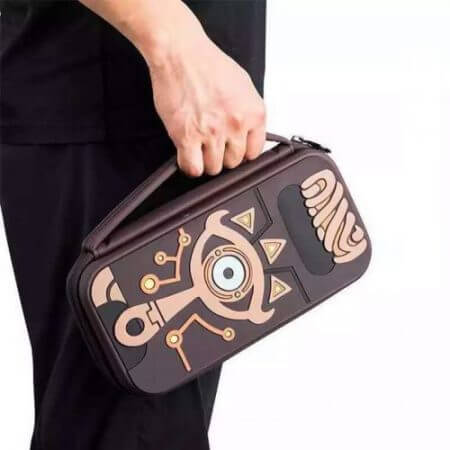 The Legend of Zelda Sheikah Slate Carrying Storage Bag Switch Water-resistent Case Bags Silica Gel 5