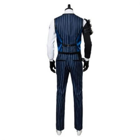 OW Cosplay Costume Shimada Hanzo Cosplay Costume Suit Adult Men Halloween Carnival Costumes 3