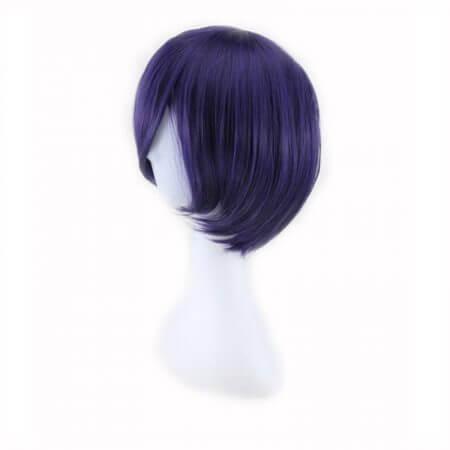 Tokyo Ghoul Touka Kirishima Wig Cosplay Costume Kirishima Toka Women Short Synthetic Hair Halloween + Wig Cap 1