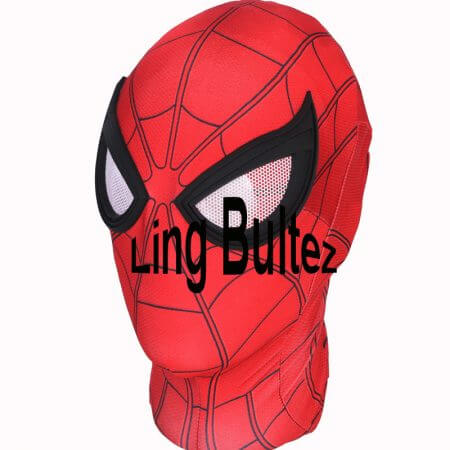 Ling Bultez High Quality Spiderman Homecoming Cosplay Costume 2017 Tom Holland Spider Man Suit 2017 Homecoming Spiderman Costume 3
