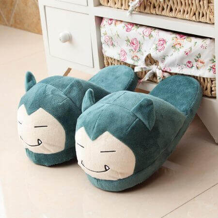 Winter lovely Home Slippers Cartoon Pokemon Warm Shoes Women Cosplay Unisex Cartoon Cotton slippers shoes 3