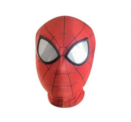 3D Spiderman Homecoming Masks Avengers Infinity War Iron Spider Man Cosplay Costumes Lycra Mask Superhero Lenses 2