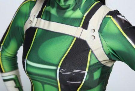 High quality 3D Printed Boku no Hero Academia Froppy Cosplay Costumes Pro Hero Tsuyu Asui Hero Academia Zentai Bodysuit 5