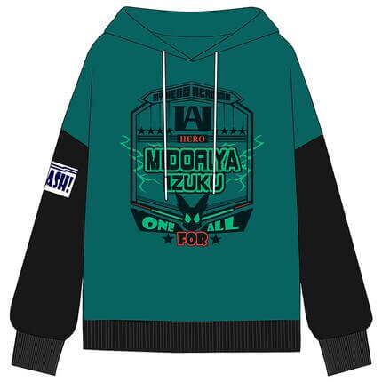 New My Hero Academia Boku no Hero Academia Cosplay Costumes Midoriya Izuku Teens College Cotton Hoodies Jackets Sweatshirts Top 4