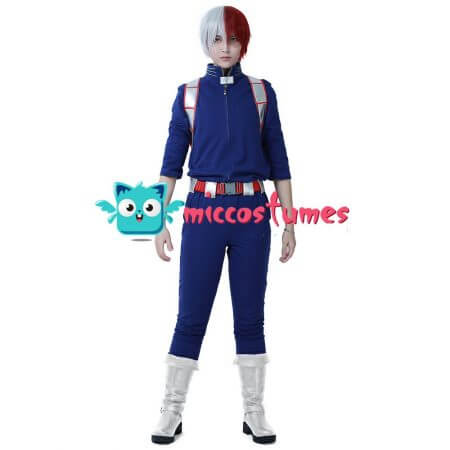 My Hero Academia Shoto Todoroki Cosplay Costume Uniform 2