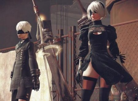 Hot Games NieR Automata 9S Cosplay Costumes Men Fancy Party Outfits Coat YoRHa No. 9 Type S Full Set for Halloween 5