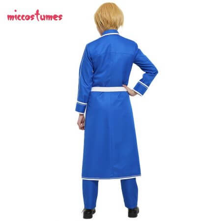 Sword Art Online Alicization Eugeo Cosplay Costume Uniform Men Halloween Outfit 2