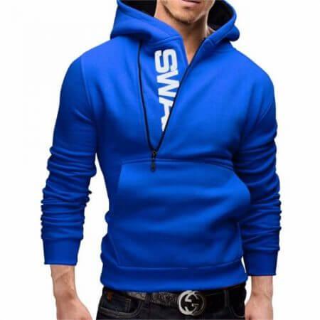 Assassins Creed Hoodies Men Fashion Brand Zipper Letter Print Sweatshirt hip hop tracksuit Hooded Jacket streetwear black Hoodie 4