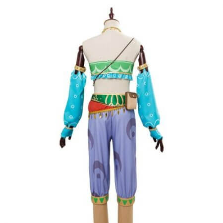 The Legend of Zelda Breath of the Wild Cosplay Costume Female Zelda Link Cosplay Costume Gerudo Halloween Carnival Costumes 3