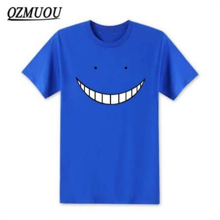2019 New Anime Assassination Classroom T Shirts Men Korosensei T Shirt Cotton Short Sleeve Men Cartoon Cosplay Tops Tees XS-XXL 4