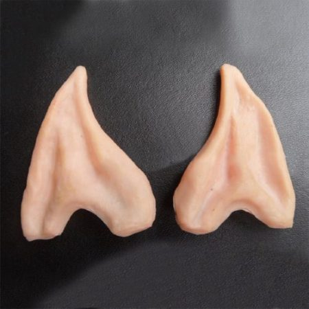 Tips Elf Ear Latex Fairy Pixie Elf Ears Cosplay Accessories Halloween Party Cosplay Accessories Latex Soft Pointed Prosthetic 2