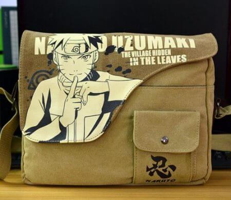 Canvas Bag Anime Sword Art Online Totoro Attack on Titan Naruto ONE PIECE Black Butler GINTAMA Shoulder Messenger Bag School Bag 4