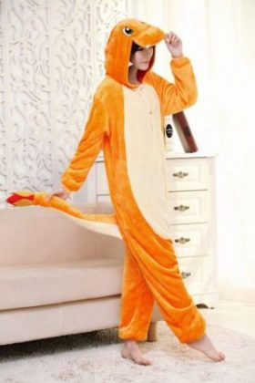 Japan Adult Pokemon Pikachu Kigurumis Cosplay Footed One Piece Pajamas Onesie Costume Fleece Clothing Children's animal pajamas 4