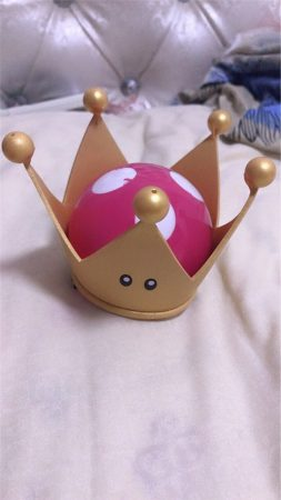 New Bowsette Kuppa Koopa Hime Princess Cosplay Womanize Crown Earrings Horns Hairpiece Headwear Halloween Costume Props Handwork 4