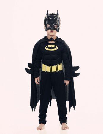 Muscle Batman Costumes,Superman Batman Movie Classic costume halloween for KIds Boys Justice league infantile superhero Clothes 1