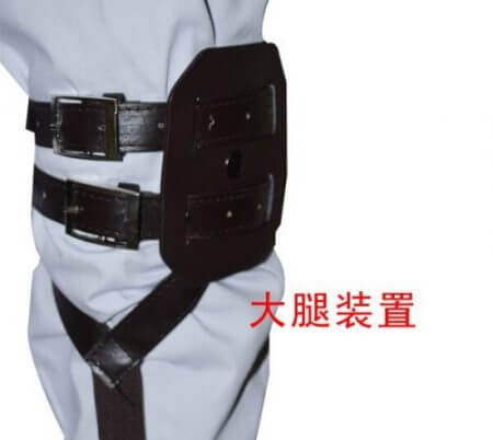 Attack On Titan Japanese Anime Shingeki No Kyojin Recon Corps Harness Belts Hookshot Cosplay Costume Adjustable Belts 4