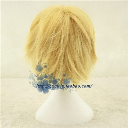 Golden Link Wig Cosplay Wig Legend of Zelda Cosplay Hair Role Play Synthetic Hair for Adult 2