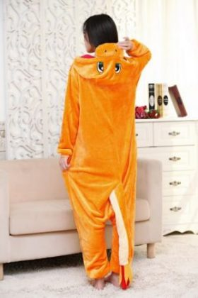 Japan Adult Pokemon Pikachu Kigurumis Cosplay Footed One Piece Pajamas Onesie Costume Fleece Clothing Children's animal pajamas 5