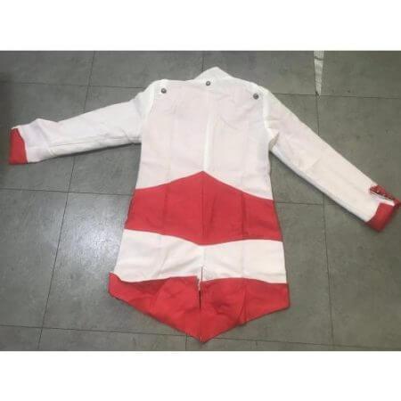 assassins creed cosplay Adult Men Women Streetwear Hooded Jacket Coats Outwear Costume Edward assassins creed Halloween Costume 3