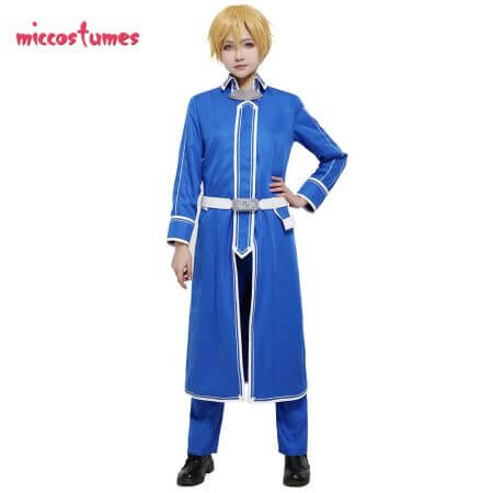 Sword Art Online Alicization Eugeo Cosplay Costume Uniform Men Halloween Outfit 1