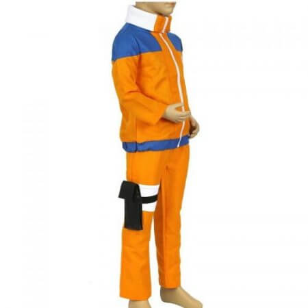 Calssic Anime Cosplay   Naruto children Cosplay Costumes juvenile Uzumaki Naruto kids  European size Free Shipping 3