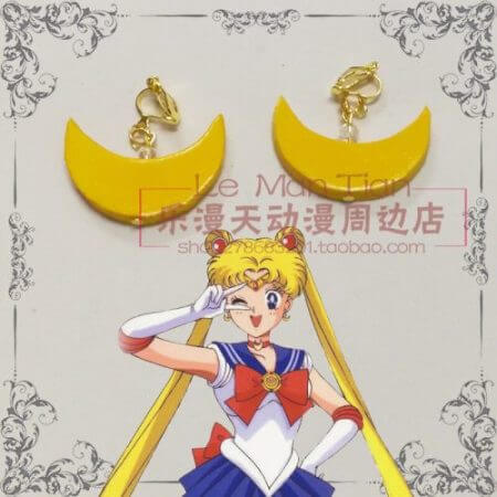 Japan Sailor Moon Tsukino Usagi wig 3