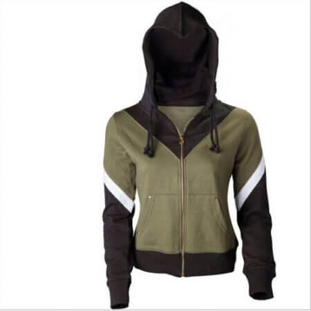 The Legend of Zelda Link Hoodie Zipper Coat Jacket Hooded Sweater Cosplay Costume For Men Women 1