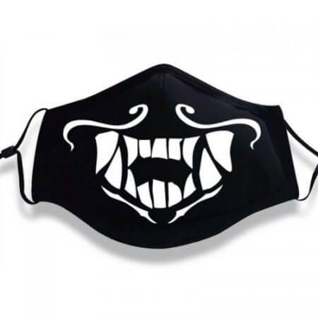 Drop shipping Game LOL League of Legends K/DA Kda Group Akali Assassin Cosplay Face Mask Night Lights Luminous Prors 1