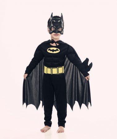 Muscle Batman Costumes,Superman Batman Movie Classic costume halloween for KIds Boys Justice league infantile superhero Clothes 2