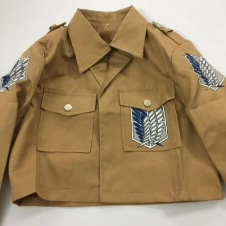 Attack On Titan Cosplay Shingeki No Kyojin Cosplay Jacket Japanese Anime Brown Coat Women Man Adults 3