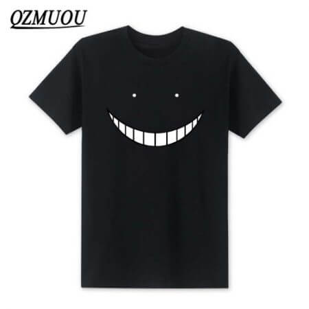 2019 New Anime Assassination Classroom T Shirts Men Korosensei T Shirt Cotton Short Sleeve Men Cartoon Cosplay Tops Tees XS-XXL 1