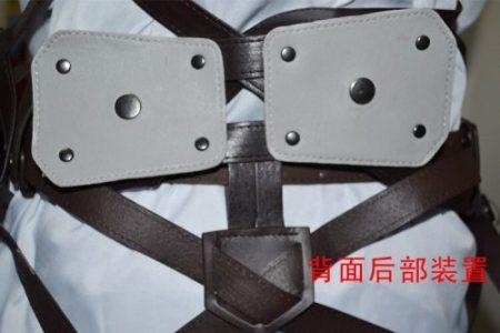 Attack On Titan Japanese Anime Shingeki No Kyojin Recon Corps Harness Belts Hookshot Cosplay Costume Adjustable Belts 5