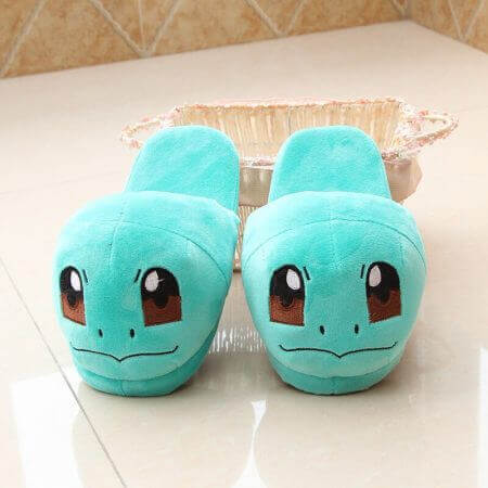 Winter lovely Home Slippers Cartoon Pokemon Warm Shoes Women Cosplay Unisex Cartoon Cotton slippers shoes 4
