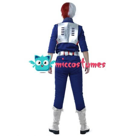 My Hero Academia Shoto Todoroki Cosplay Costume Uniform 4
