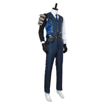 OW Cosplay Costume Shimada Hanzo Cosplay Costume Suit Adult Men Halloween Carnival Costumes 4
