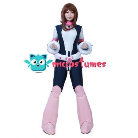 My Hero Academia Ochako Uraraka Cosplay Jumpsuit Costume 1