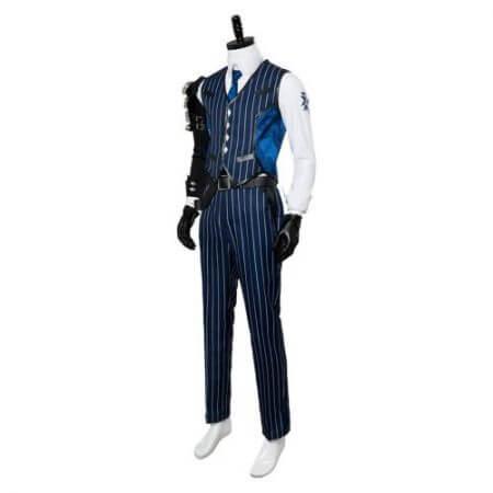 OW Cosplay Costume Shimada Hanzo Cosplay Costume Suit Adult Men Halloween Carnival Costumes 2