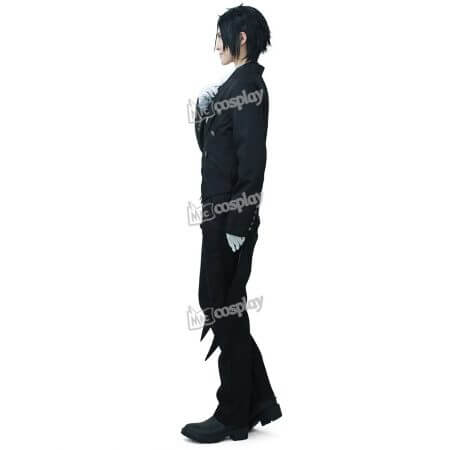 Anime New Hot Black Butler Sebastian Michaelis Cosplay Costume Halloween Unisex Party Clothing 1