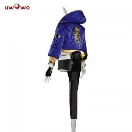 UWOWO Sexy Cosplay VERSION Game League Of Legends K/DA Akali Cosplay Costume For Women 2