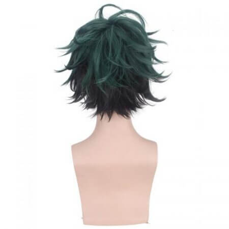 My Hero Academia Izuku Midoriya Cosplay Wig Boku No Hero Academy Cosplay Hair Wig Izuku Midoriya Deku Wig 5