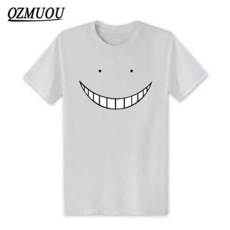 2019 New Anime Assassination Classroom T Shirts Men Korosensei T Shirt Cotton Short Sleeve Men Cartoon Cosplay Tops Tees XS-XXL 2
